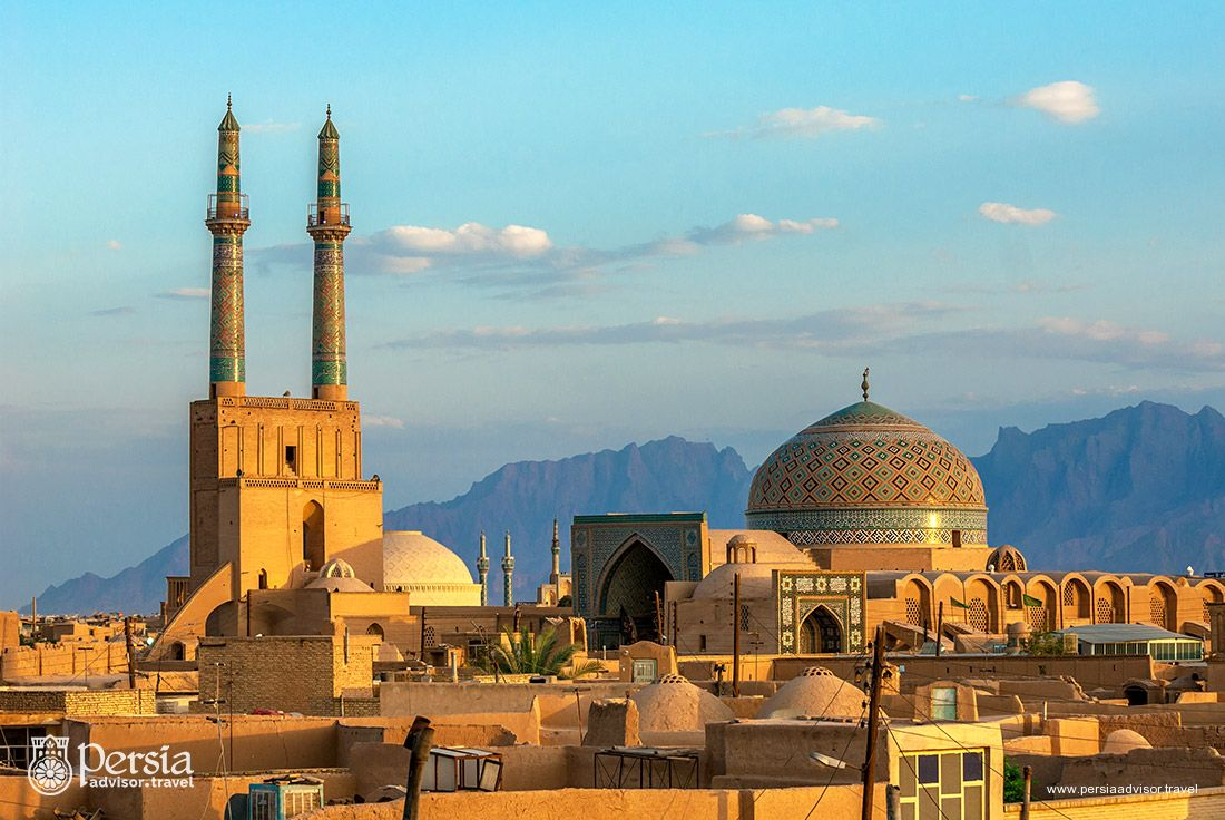 Historic City of Yazd - Yazd Province, Iran (Persia)