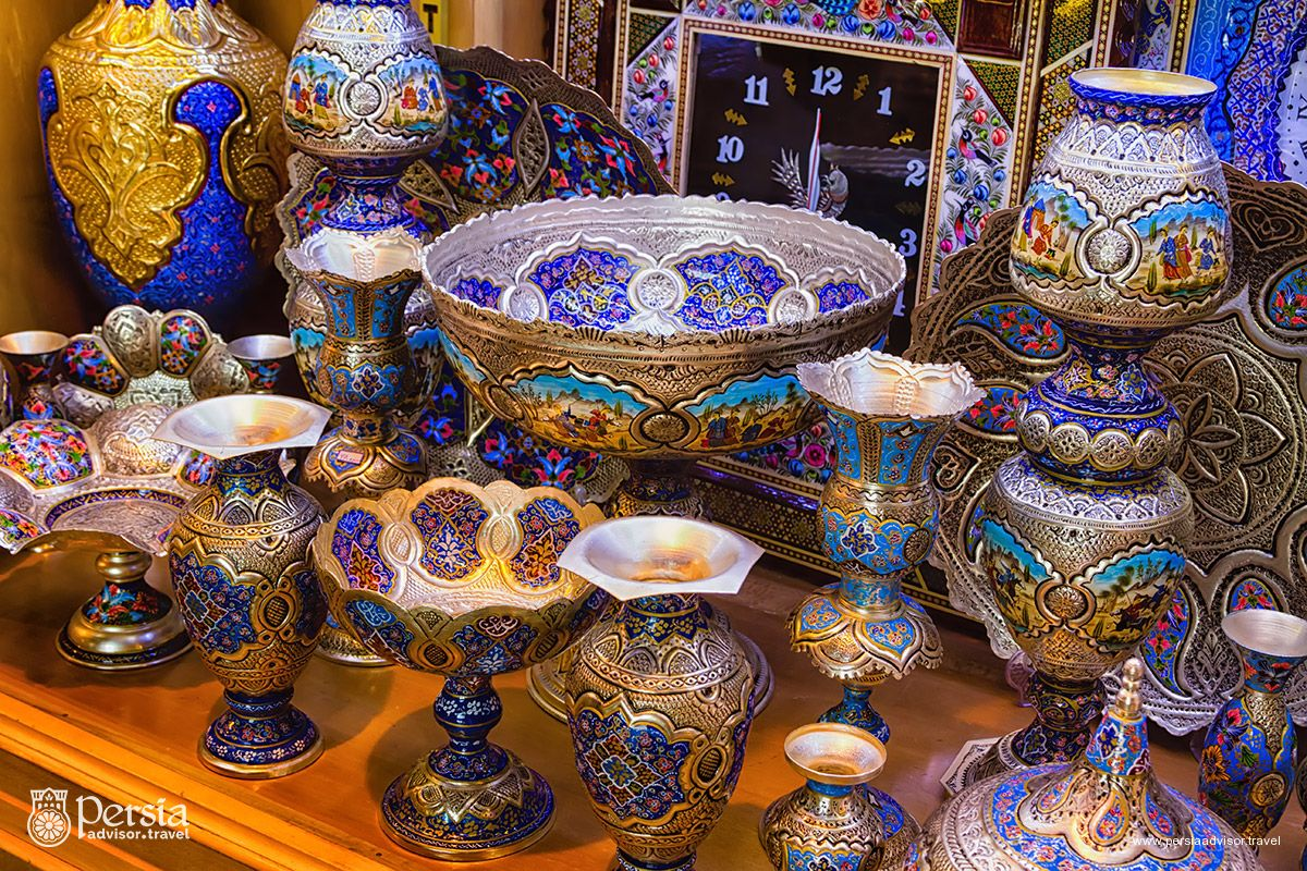 Iranian Handicrafts, Traditional Plates and Dishes (Persia)