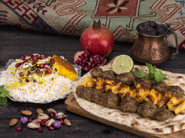 History of Persian Food (Iranian Cuisine)