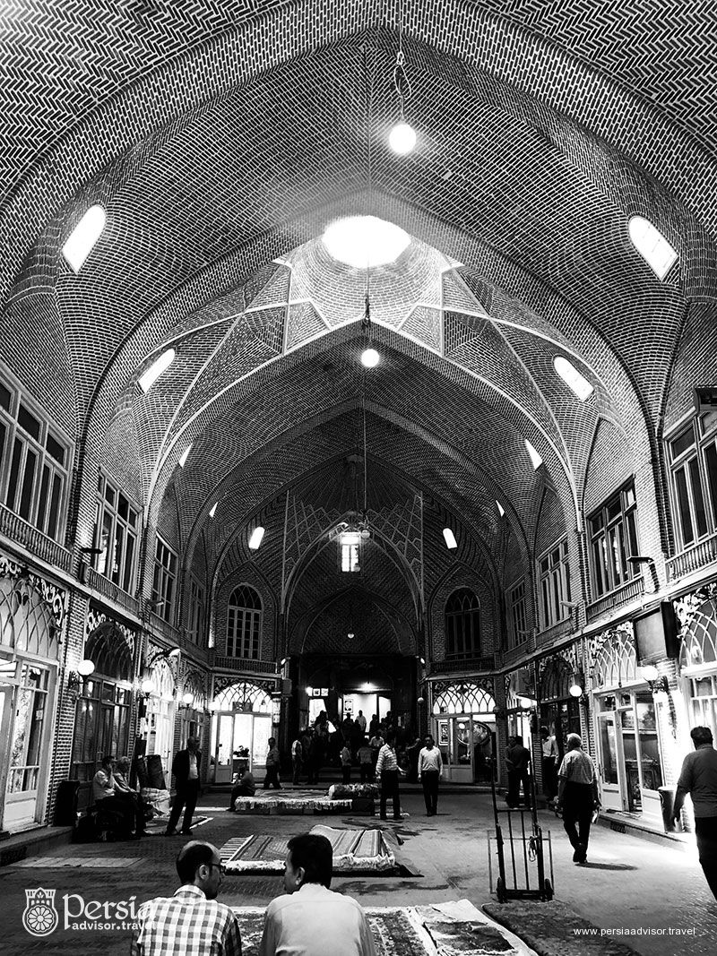Iranian Traditional Bazaar - Grand Bazar of Tabriz- Tabriz, Azerbaijan Sharqi (East) Province, Iran