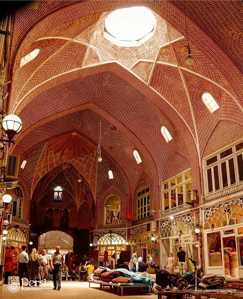 Iranian Traditional Bazaar - Grand Bazar of Tabriz- Tabriz, Azerbaijan Sharqi (East) Province