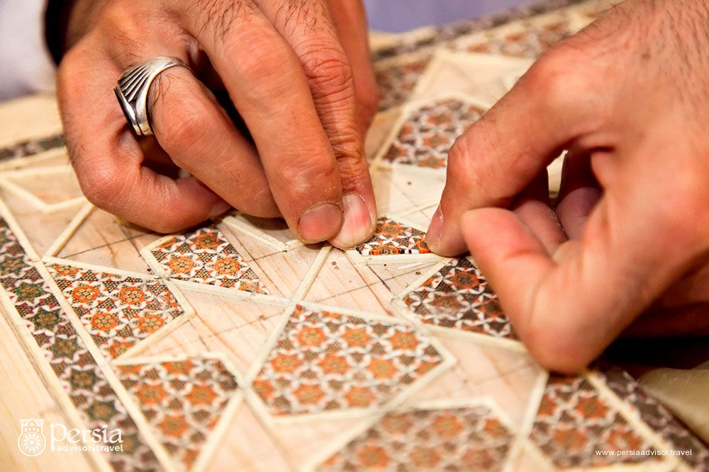 Khatam, Iranian Handicraft - Persia Advisor Travels